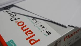 Künftig soll die Verwaltung nur noch 80 Gramm schweres Papier verwenden.