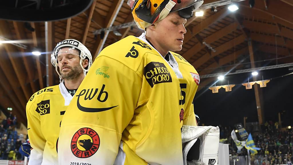 Bern bangt wieder um Playoffs - Lausanne und Fribourg fast durch
