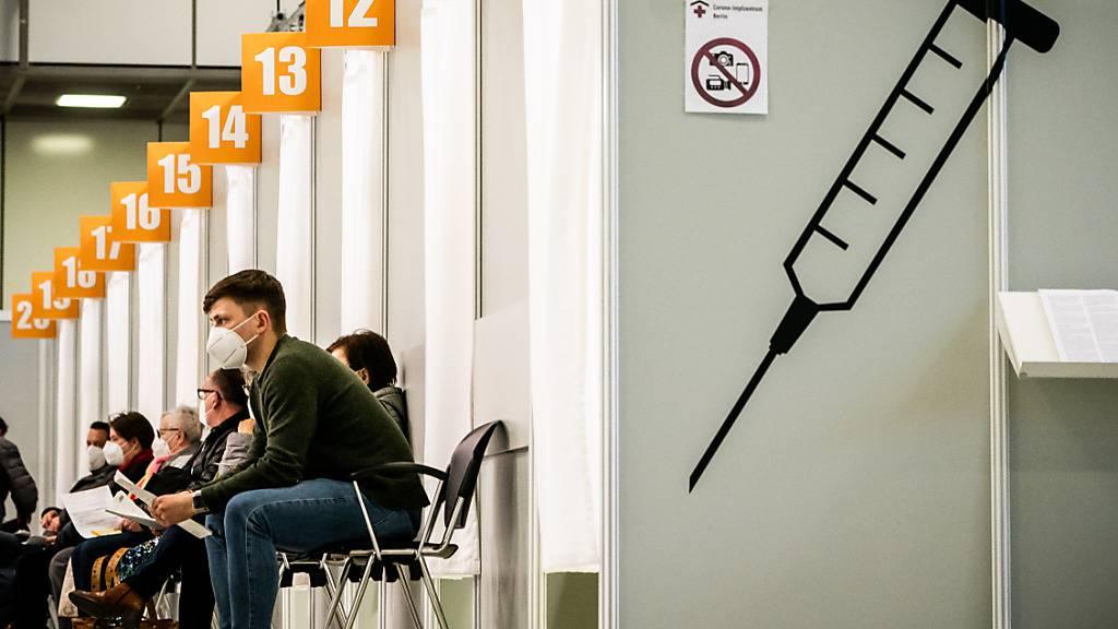 Der Andrang in den Ostschweizern Impfzentren hat abgenommen. (Symbolbild)