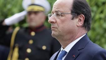 Kündigt Ermittlungen zu Mordtat an: François Hollande am Dienstag