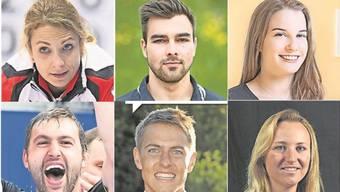 Die Nominierten für die Wahl zum Aargauer Sportler des Jahres 2017 stehen fest.