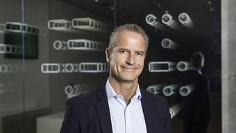 Weiter auf Wachstumskurs: Straumann-Konzernchef Marco Gadola hat die Wachstumsprognose für das Gesamtjahr hochgeschraubt. (Archiv)