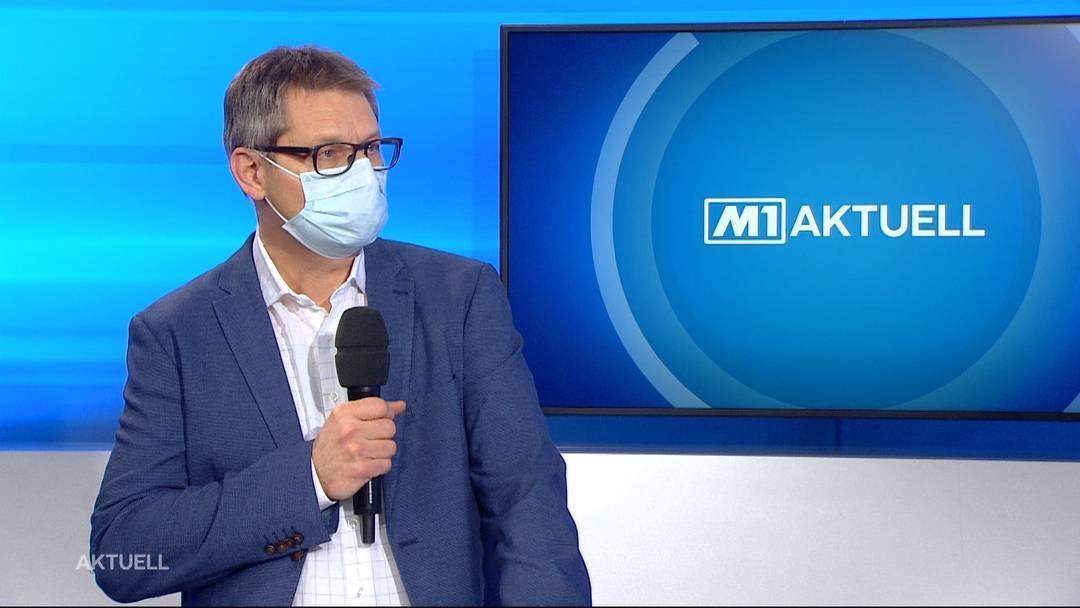 KSA-Chefarzt Christoph Fux: «Im privaten Setting müssen die Kontakte besser geschützt werden» (13.1.2021)