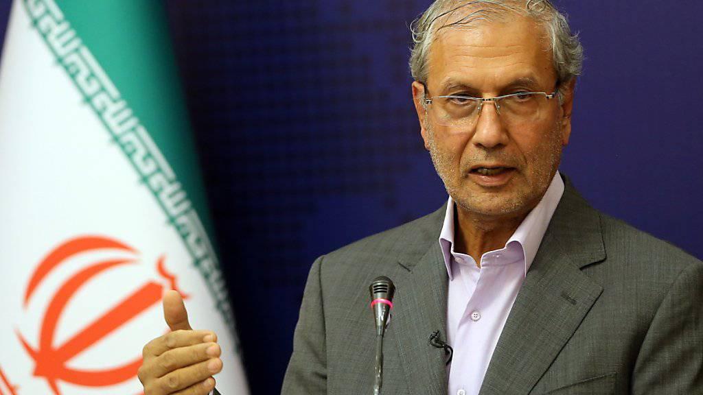 Teheran hat einen britischen Vorschlag für eine europäische Marinemission im Persischen Golf zurückgewiesen. Regierungssprecher Ali Rabiei sagte, eine europäische Flotte im Persischen Golf sei «provokativ» und würde «natürlich eine feindselige Botschaft» transportieren.  (Archivbild)