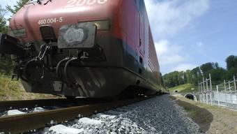 Die Bahn 2000 der SBB. Auf dieser Strecke kam es zur Kollision.
