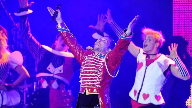 Mann der grossen Gesten: DJ BoBo inszeniert seine Konzerte als gewaltige Bühnenshows - und das seit 25 Jahren. (Archivbild)