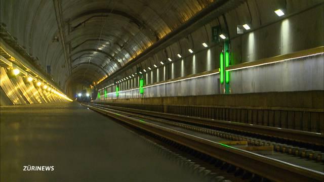 Gotthard-Basistunnel: Zu enge Gleise und Probleme mit Weichen