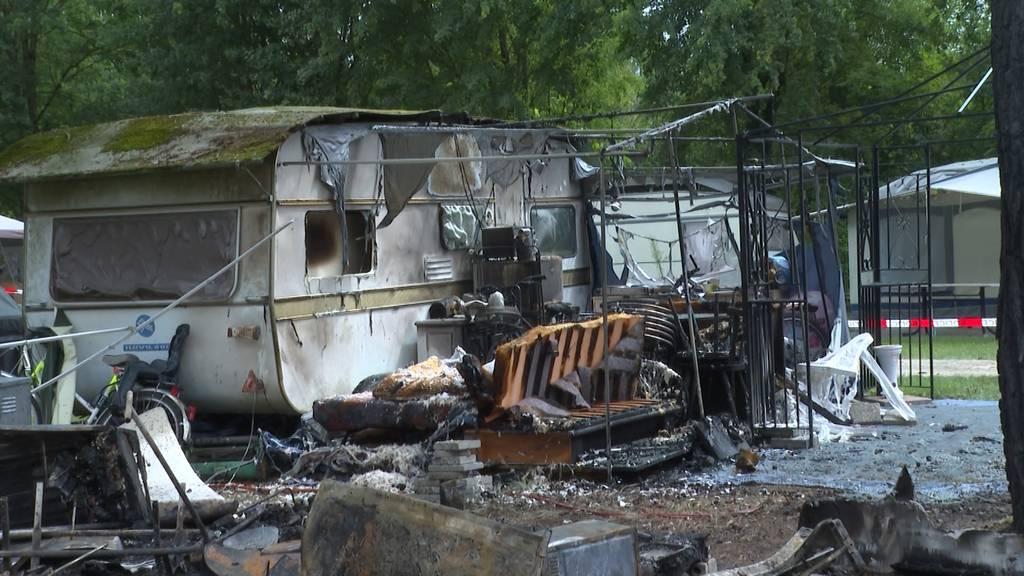 Erneuter Brand auf Camping in Salavaux (VD)
