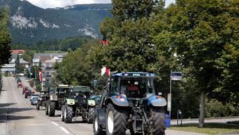 Taktoren-Treffen 2017 in Bellach