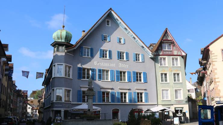 Über 2,5 Millionen Franken investiert die Stadt in den «Adler». Die Bauarbeiten sollen im zweiten Quartal 2021 starten.