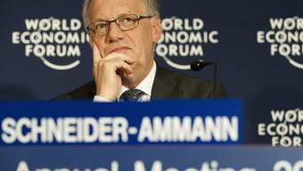 Bundesrat Johann Schneider-Ammann in Davos
