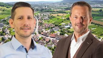 André Wymann (Quartierverein Fahrweid) und Harry Landis (parteilos) holten bei den Weininger Gemeinderatswahlen gleich viele Stimmen.