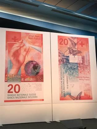 Am 10. Mai präsentierte die SNB die neue Note.