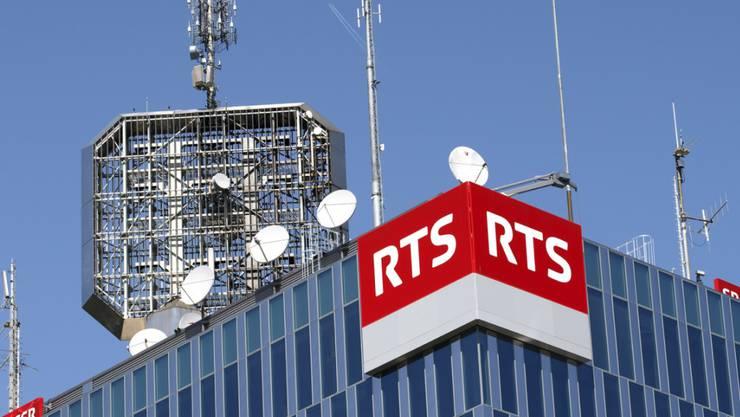 Das Westschweizer Radio und Fernsehen RTS hat mit seinem ersten Radioprogramm La 1ère das glaubwürdigste Medium in der Schweiz. (Archivbild)