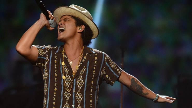 Bruno Mars beehrte die Schweiz (Archiv)