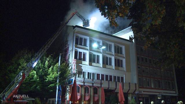 Ursache für Brand im Hotel Passage jetzt klar