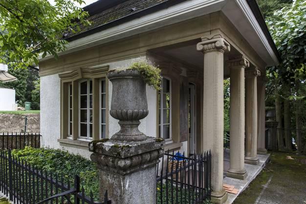 Auch das Gartenhaus und der Park stehen jetzt unter kantonalem Schutz.