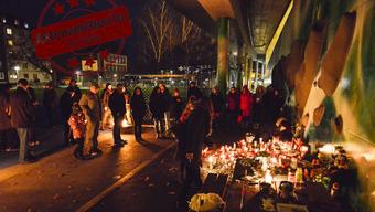 Grosse Anteilnahme: Wenige Tage nach der Tat versammelten sich rund 100 Menschen aus dem Quartier zur Mahnwache.
