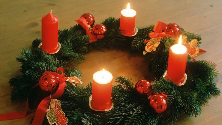 Die Bewohner hatte wohl vergessen, die Kerzen am Adventskranz zu löschen.