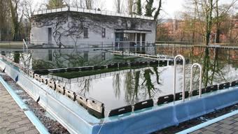 Das Dornacher Freibad «Glungge».