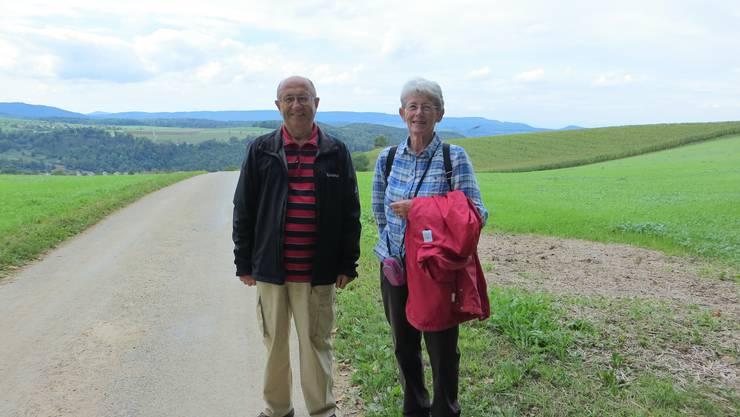 Hier auf einer Wanderung mit vielen anderen von der Wandergruppe Evang.Reformierte Kirche Frenkendorf-Füllinsdorf
