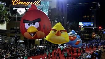 Spionage-Mittel und Online-Spiel in einem: Angry Bird (Archiv)