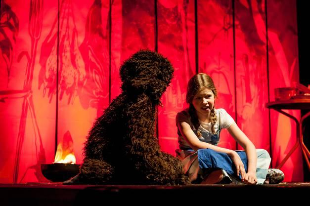 Dorothy und ihr Hund Toto