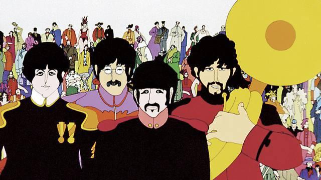 """Der Beatles-Trickfilm """"Yellow Submarine"""" erscheint auf DVD (Archiv)"""