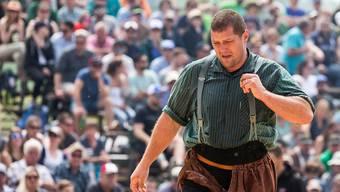 Martin Grab beendete seine Karriere nach dem Schwyzer Schwing- und Älplerfest 2018 in Sattel.