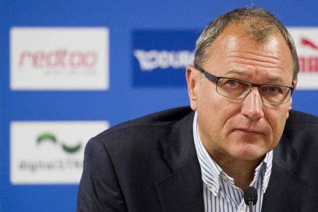 Ausflug ins Fussballgeschäft: 2012 übernahm André Dosé das Präsidium beim Grasshoppers Club Zürich. Trotz Erfolg musste er Ende 2013 gehen.