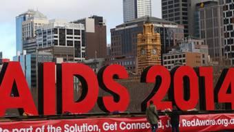 Welt-Aids-Konferenz in Melbourne