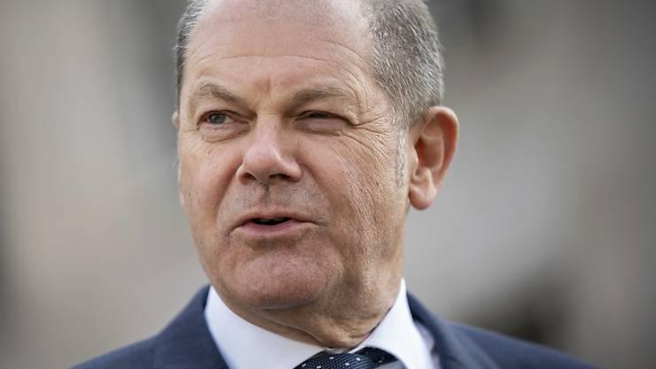Der deutsche Finanzminister Olaf Scholz bezeichnet die Einigung auf das Corona-Rettungspaket als grossen Tag für die Solidarität in Europa. (Archivbild)
