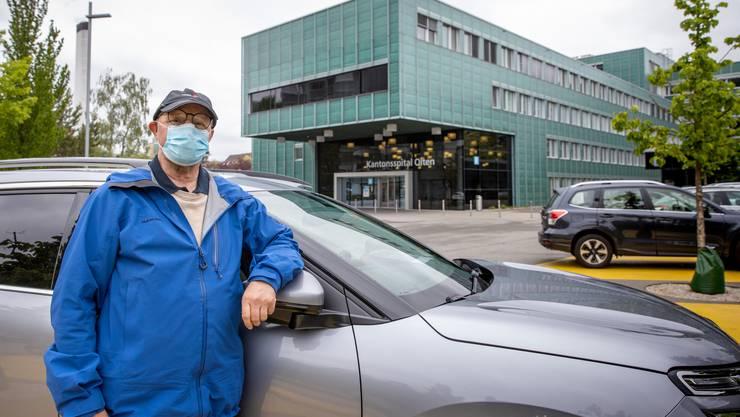 Der Erlinsbacher möchte, dass Dialyse-Patienten gratis parkieren können