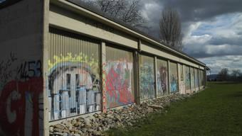 Auch das Schützenhaus auf dem Schlieremer Berg wird zurzeit nicht genutzt. (Archiv)