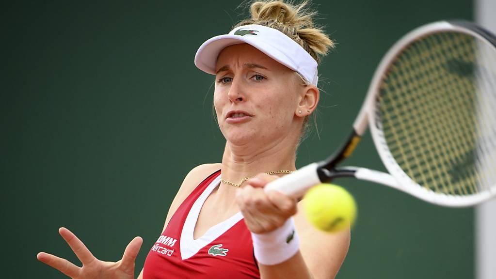 Jil Teichmann zieht am WTA-Sandturnier in Palermo in die 2. Runde ein.