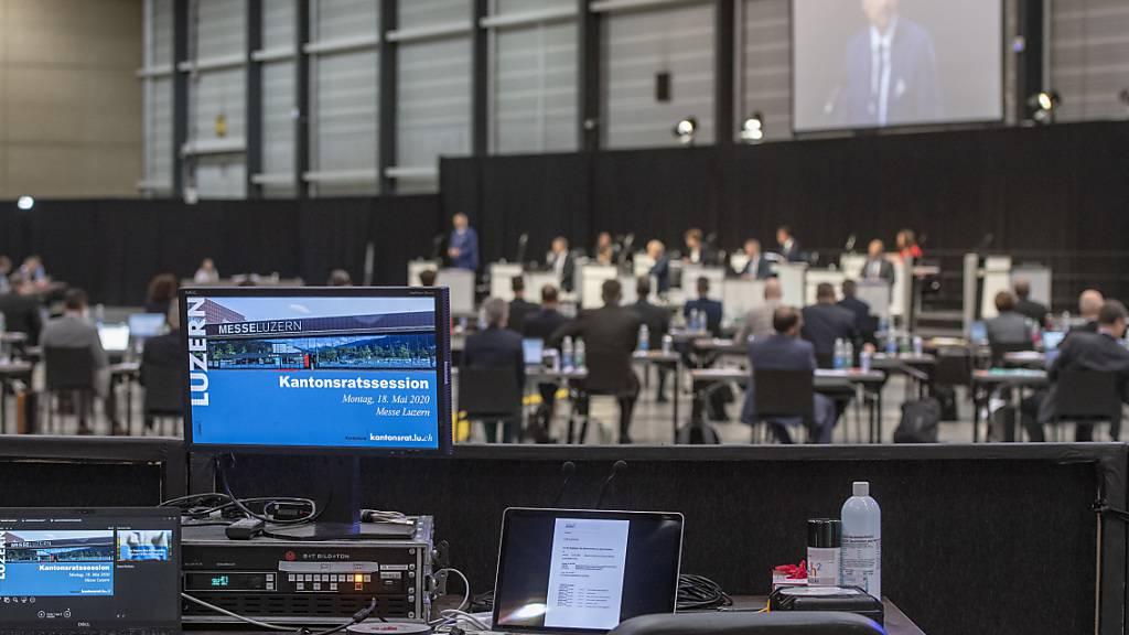 Luzerner Kantonsparlament verlegt Sessionen in die Stadthalle Sursee