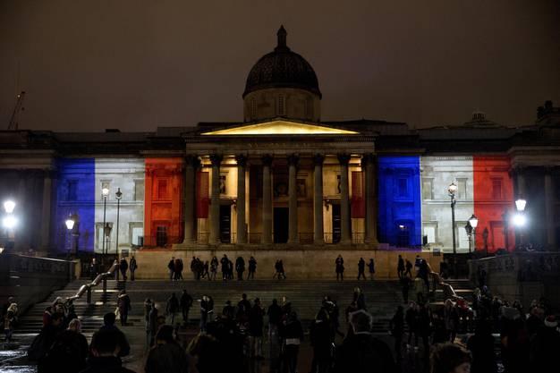 Die National Gallery in London