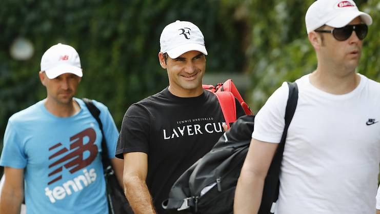 Federer selbst sieht sich als das, was er mit jeder Faser seines Körpers ausstrahlt: ein jung Gebliebener.