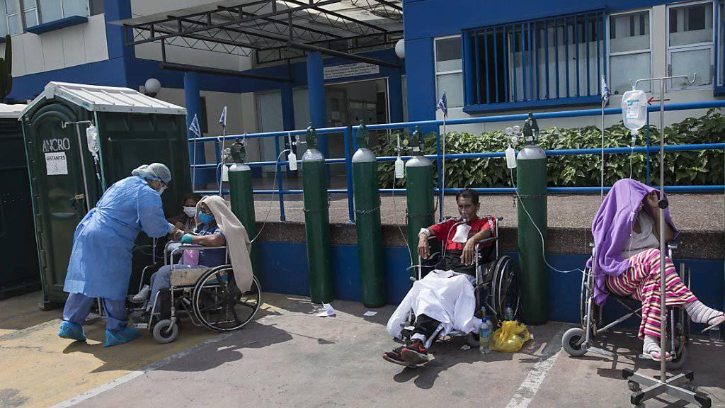 Über 50'000 Coronavirus-Infizierte in Peru