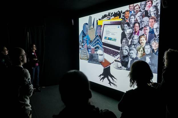 Zu Beginn wird der Besucher mit einem Kurzfilm auf die Ausstellung eingestimmt.