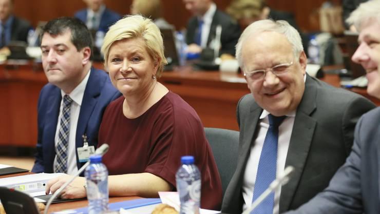 Schneider-Ammann hat gut lachen: Die Schweiz steht nicht auf der Schwarzen Liste der EU.