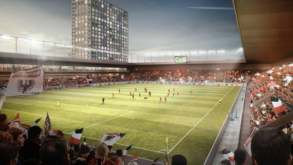 «Unser Stadion»-Initiative stösst auf Kritik