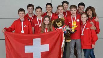 Silber für Aargauer Team. ZVG
