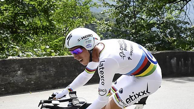 Zeitfahr-Weltmeister Tony Martin bleibt Leader der Tour de Suisse