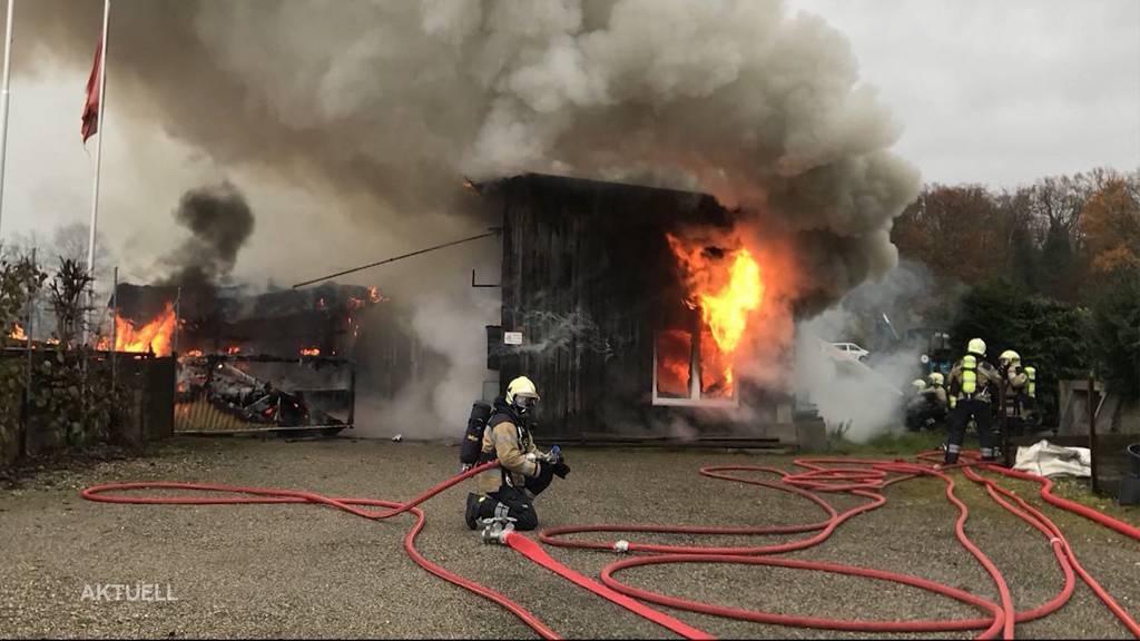 86-Jähriger stirbt bei Brand in Aesch (BL)