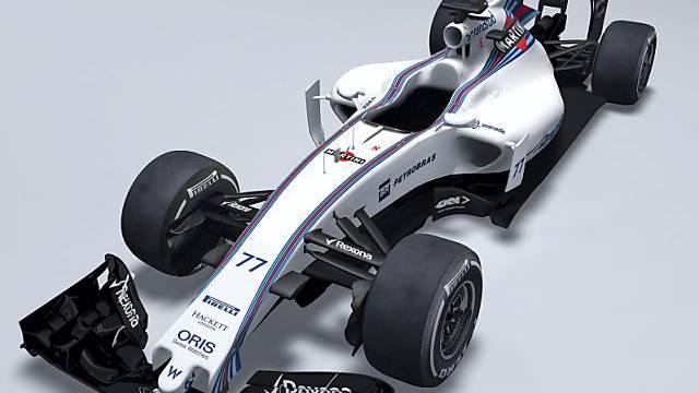 Präsentation des neuen Williams, der FW37