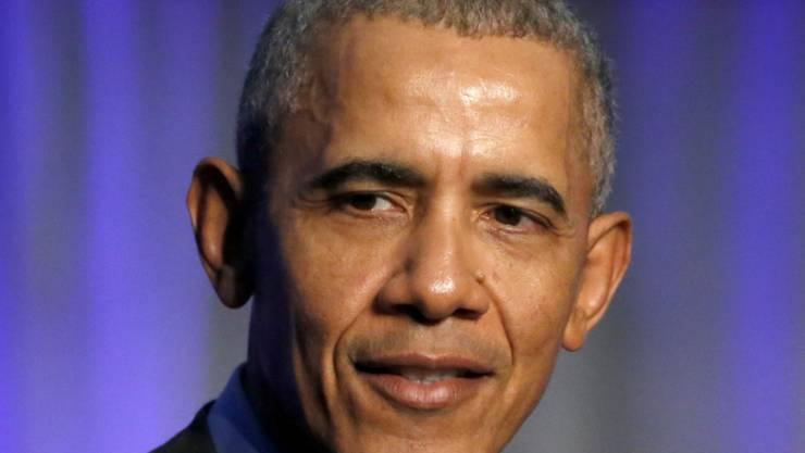 Gegen Trump: Der ehemalige US-Präsident Barack Obama will sich im US-Wahlkampf engagieren. (Archivbild)