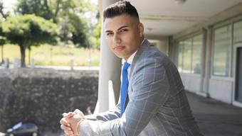 Adrian Spahr ist Co-Präsident der jungen SVP Kanton Bern.