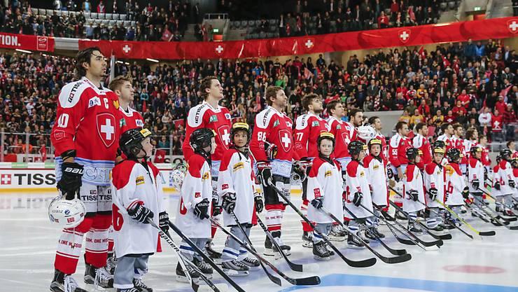 Das letzte Testspiel der Schweizer Nationalmannschaft fand in Biel statt. Die Schweiz unterlag Tschechien 1:2 nach Verlängerung