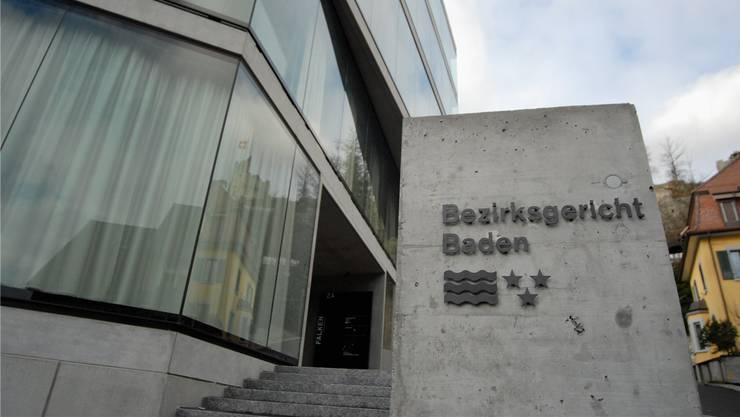 Bezirksgericht Baden (Archivbild)